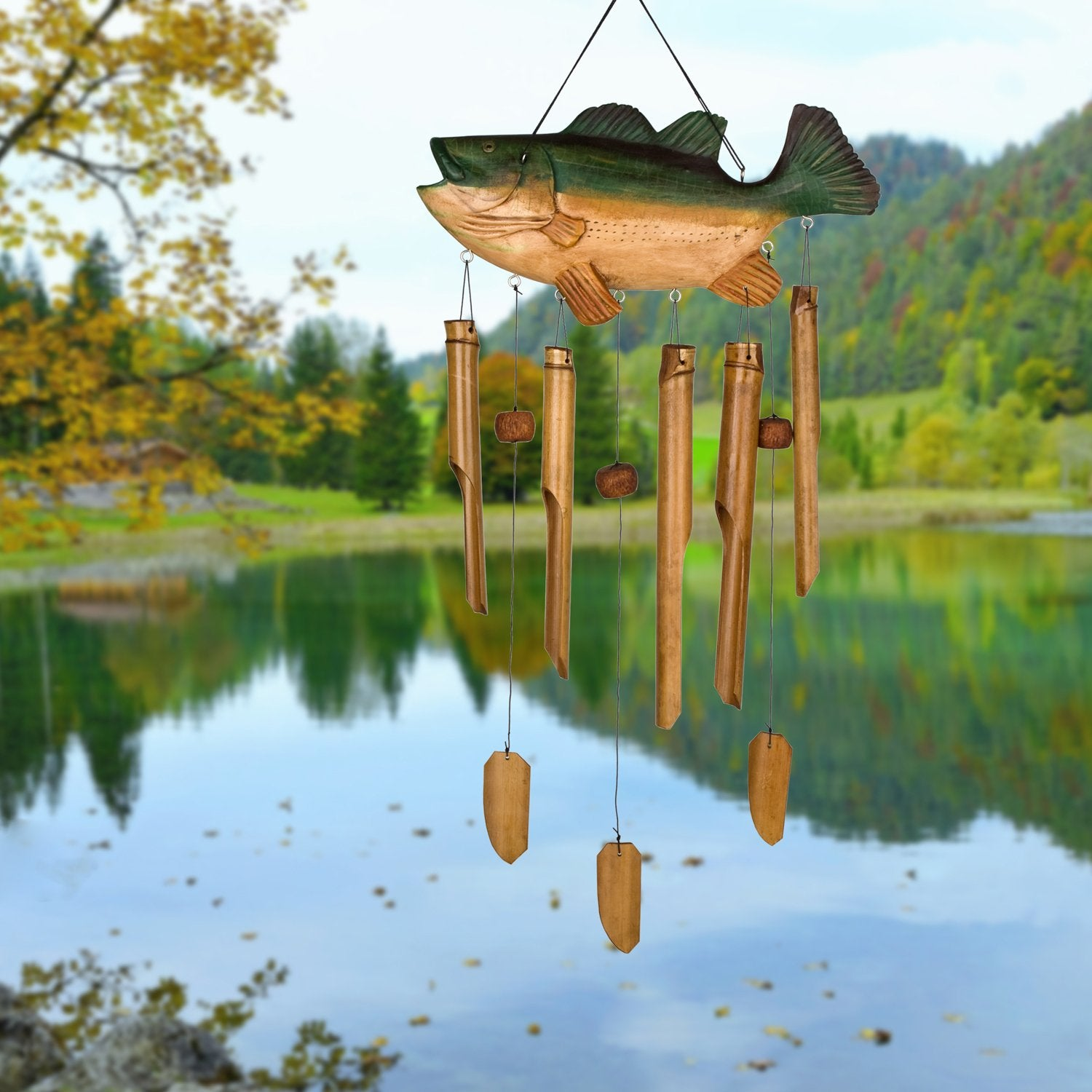 Animal Bamboo Chime - Bass Fish lifestyle image