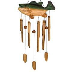 Animal Bamboo Chime - Bass Fish main image