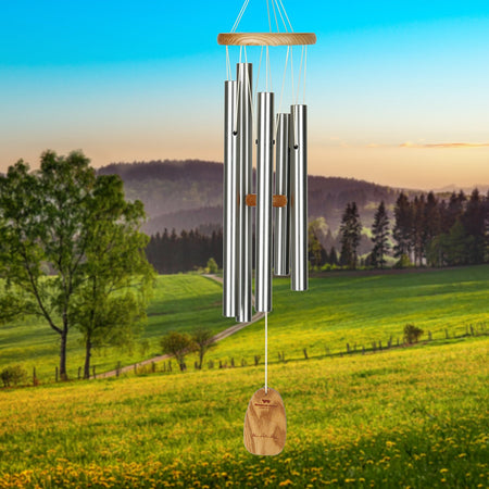 Chimes of Bach musical scale