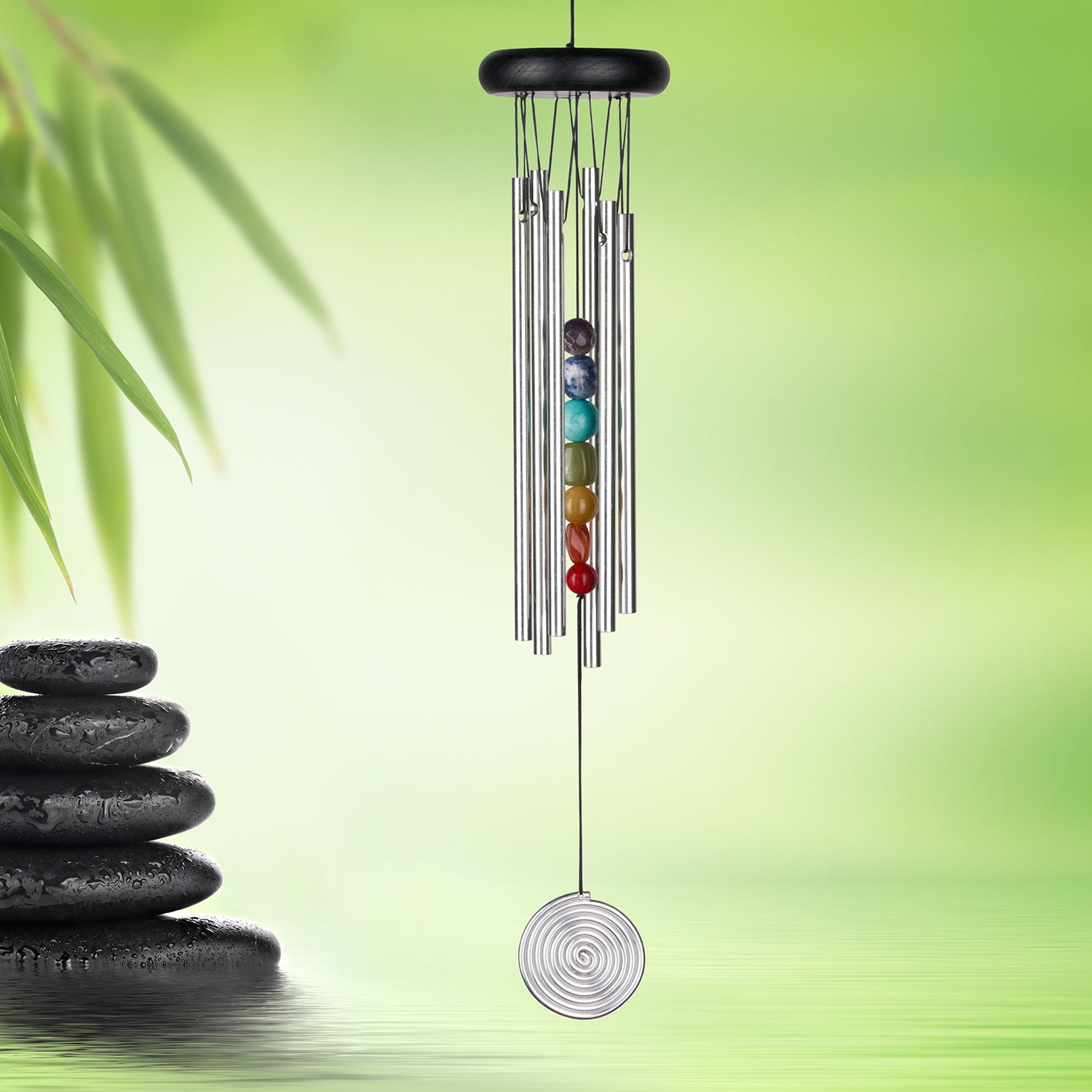 Chakra Chime - Seven Stones, Silver lifestyle image
