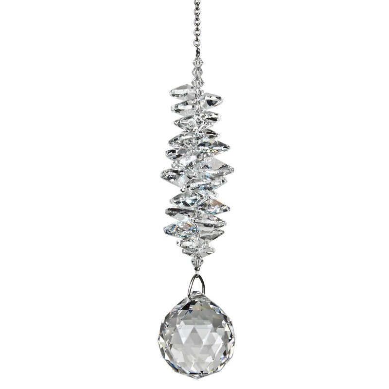 Crystal Grand Cascade Suncatcher - Ice main image