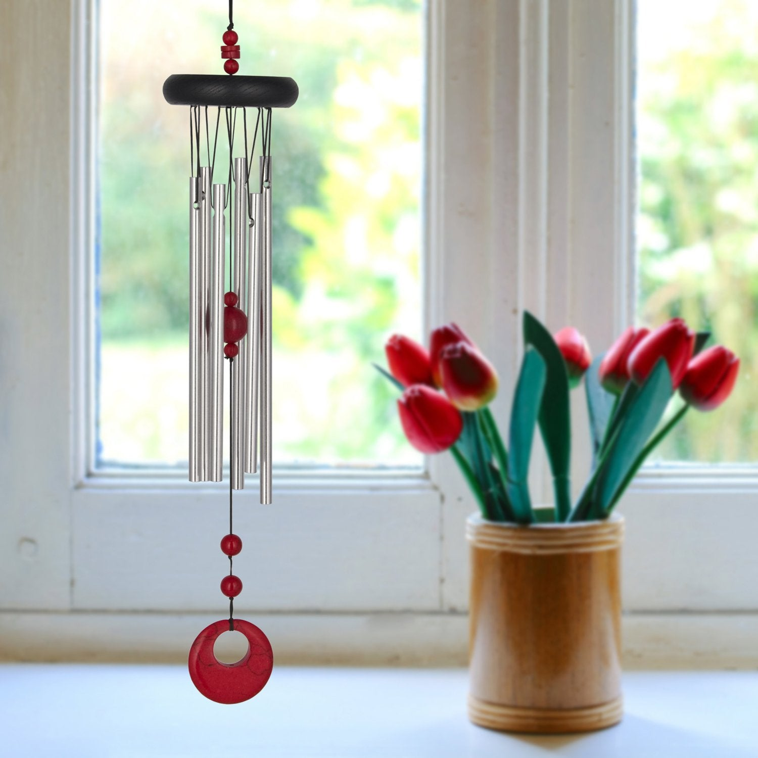Chakra Chime - Red Coral lifestyle image