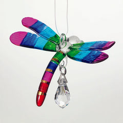 Fantasy Glass Suncatcher - Dragonfly, Summer Rainbow main image