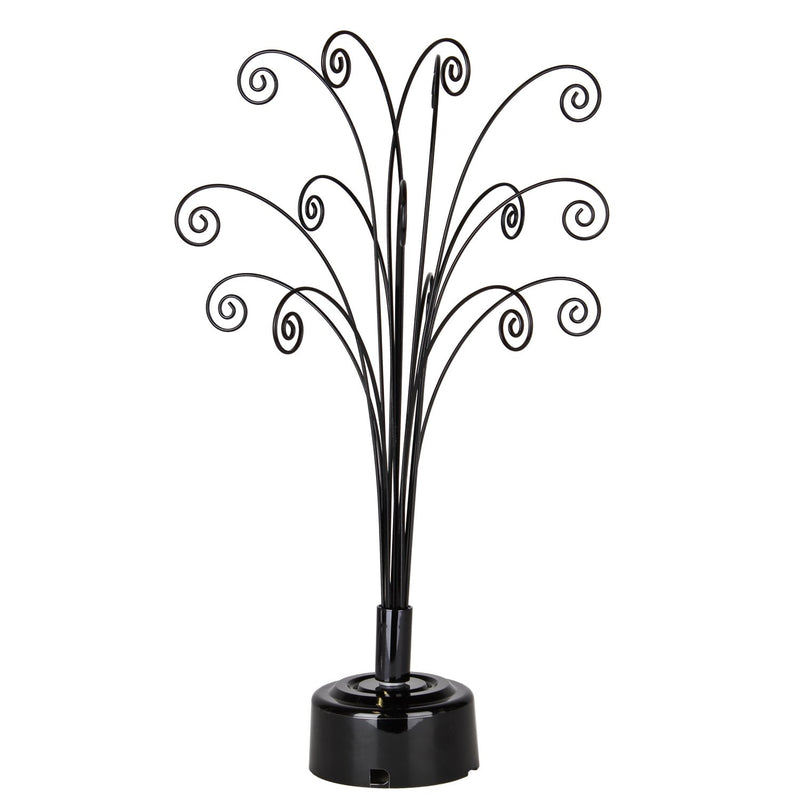 Fiddlehead Black Rotating Tabletop Tree main image