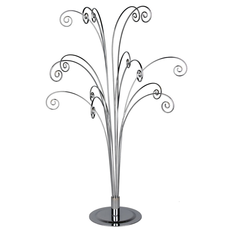 Fiddlehead Silver Tabletop Tree main image