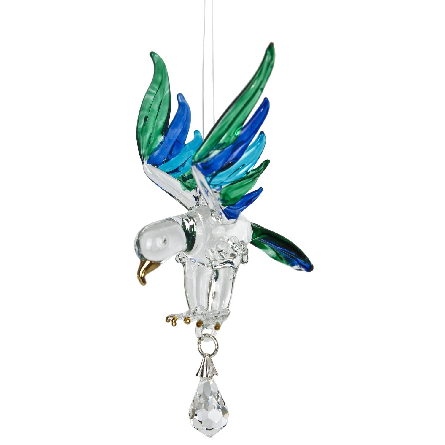 Fantasy Glass Suncatcher - Eagle, Peacock main image