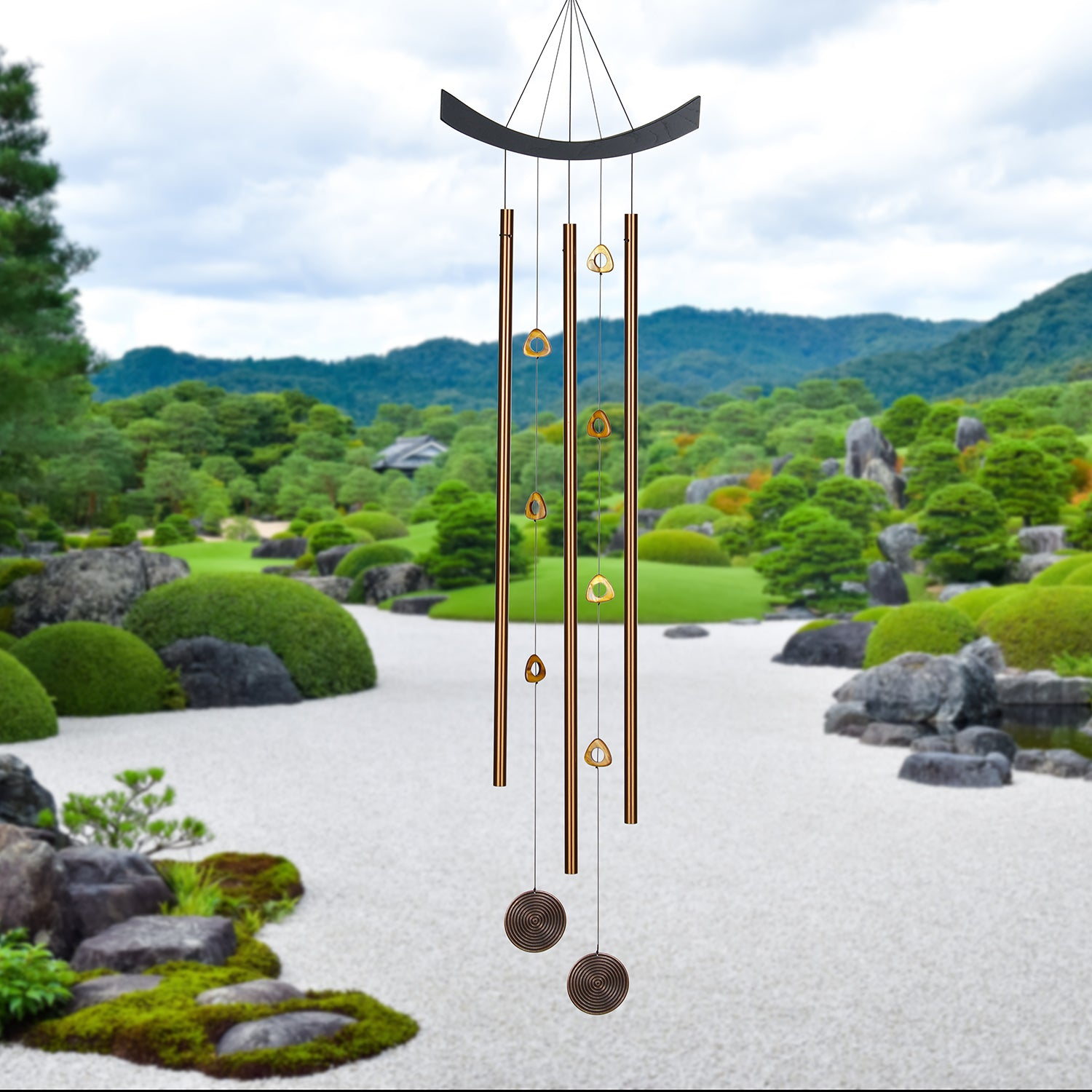 Feng Shui Chime - Chi Energy, Tiger's Eye lifestyle image