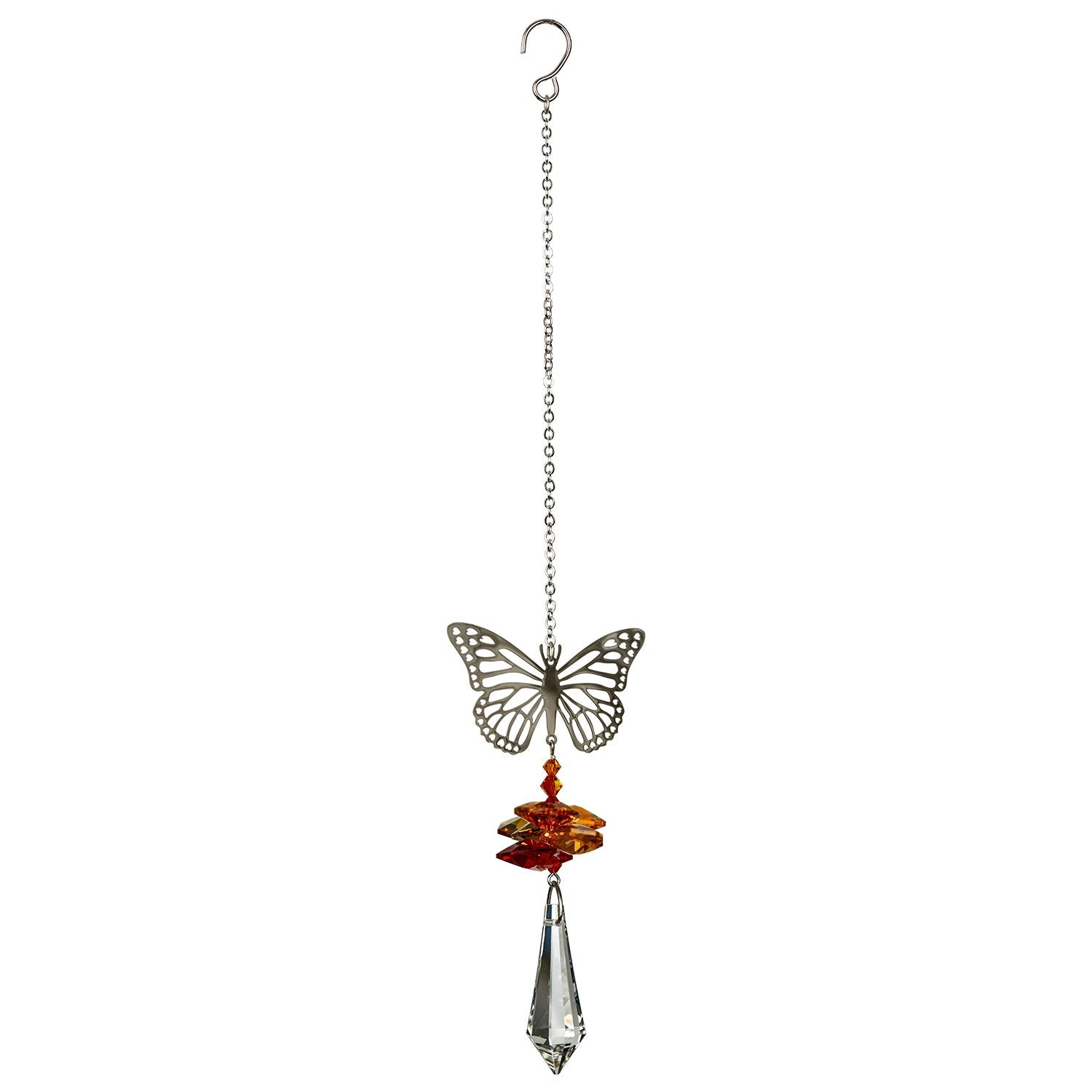 Crystal Fantasy Suncatcher - Butterfly full product image