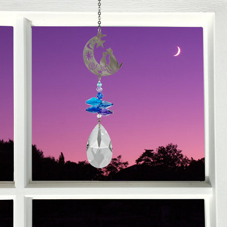 Crystal Fantasy Suncatcher - Cats proportion image