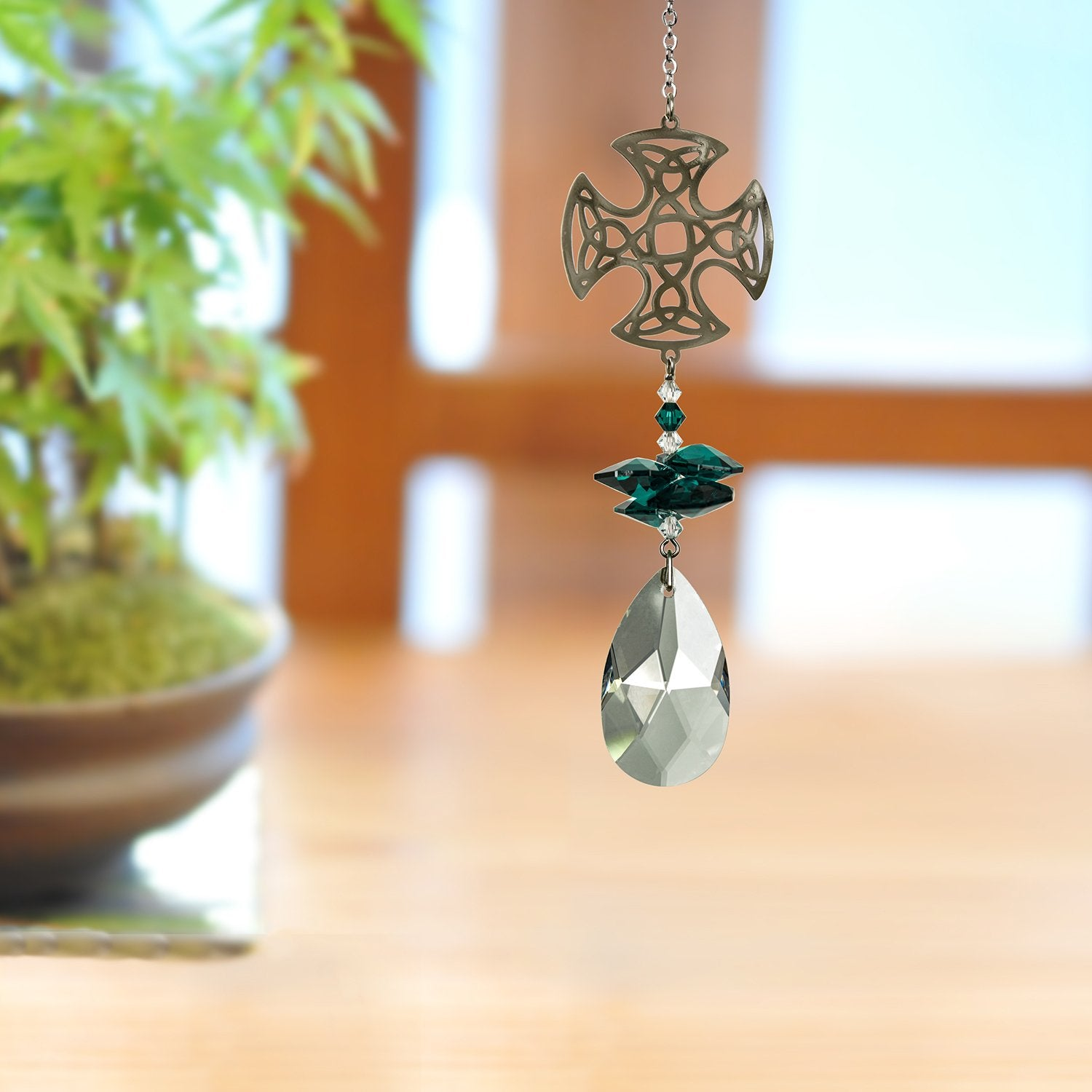 Crystal Fantasy Suncatcher - Celtic lifestyle image