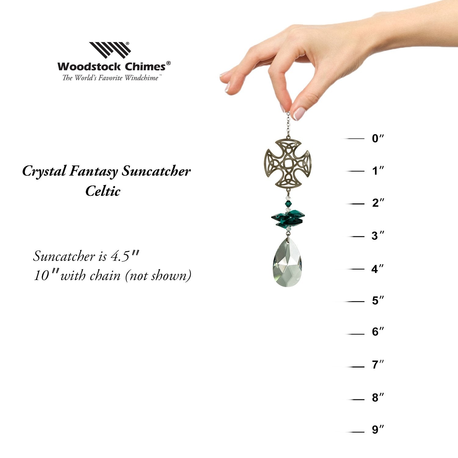 Crystal Fantasy Suncatcher - Celtic proportion image