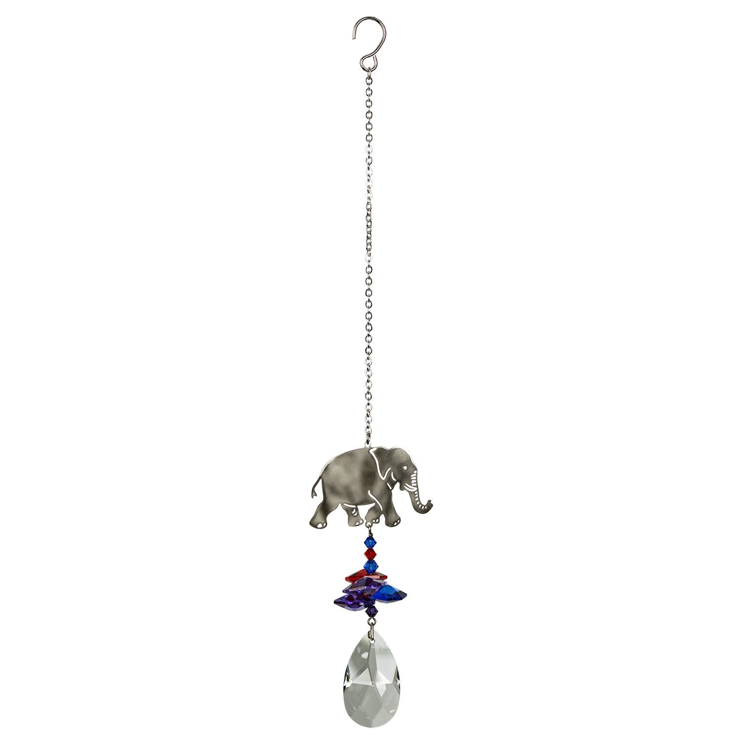 Crystal Fantasy Suncatcher - Elephant full product image