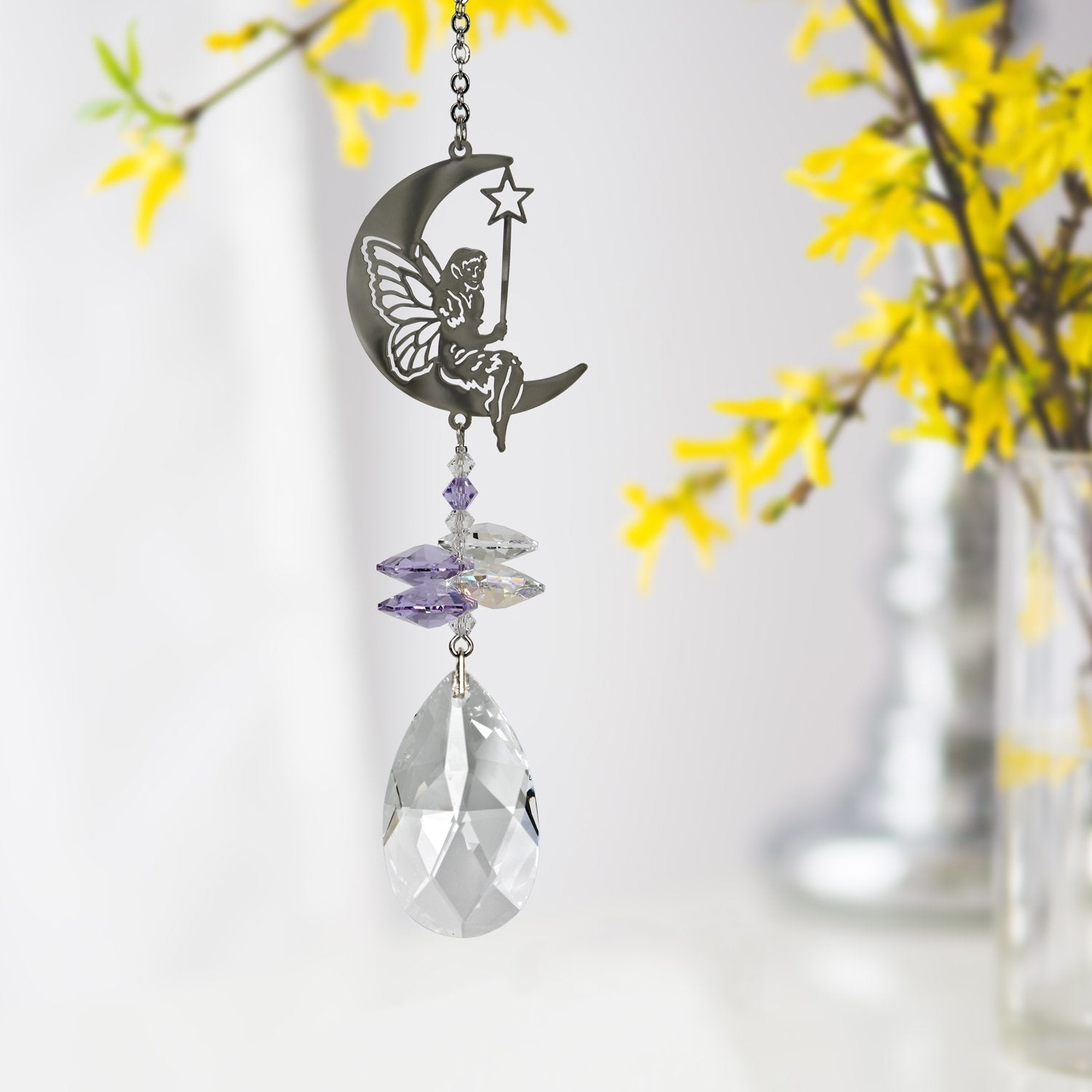 Crystal Fantasy Suncatcher - Fairy lifestyle image