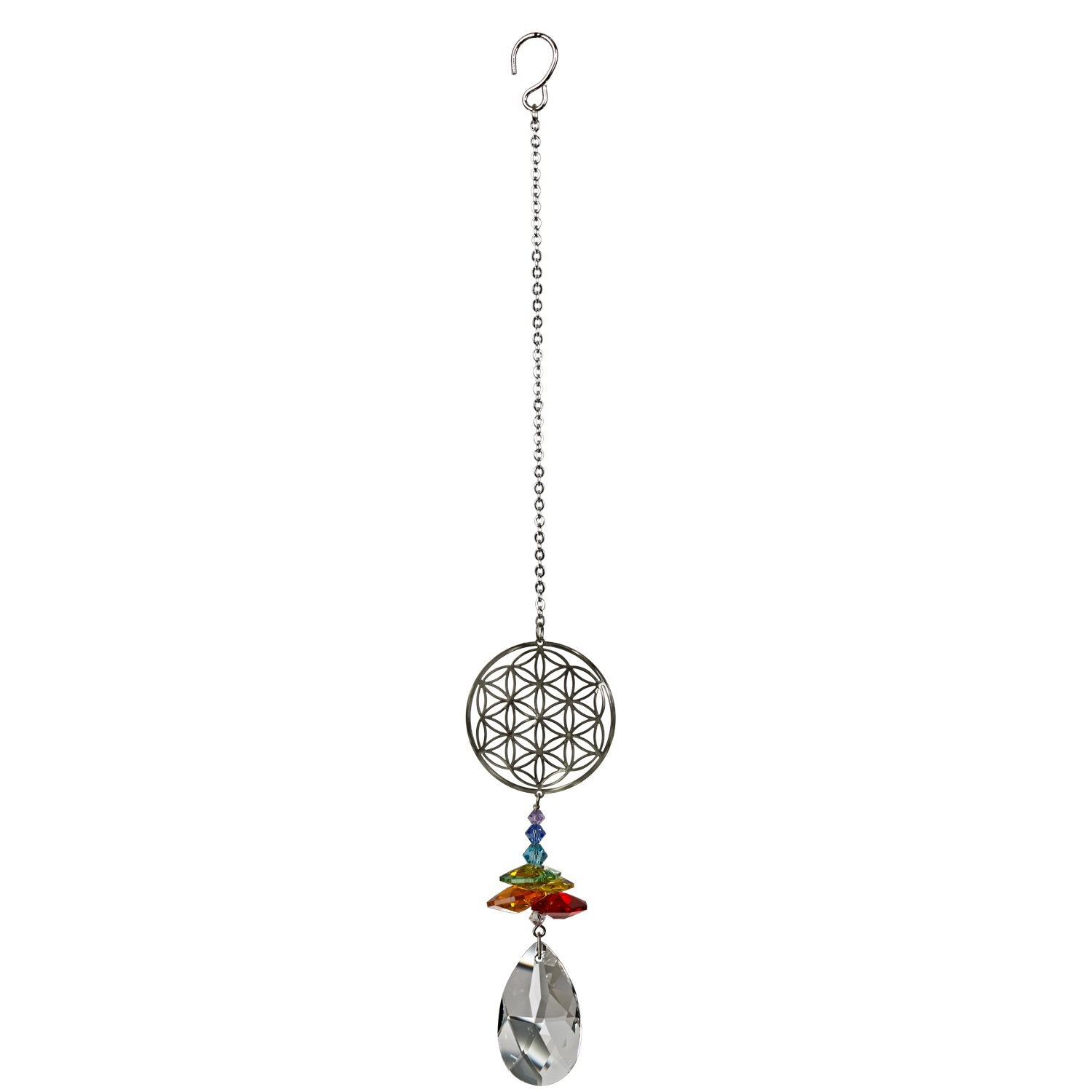Crystal Fantasy Suncatcher - Flower of Life full product image
