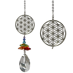 Crystal Fantasy Suncatcher - Flower of Life main image