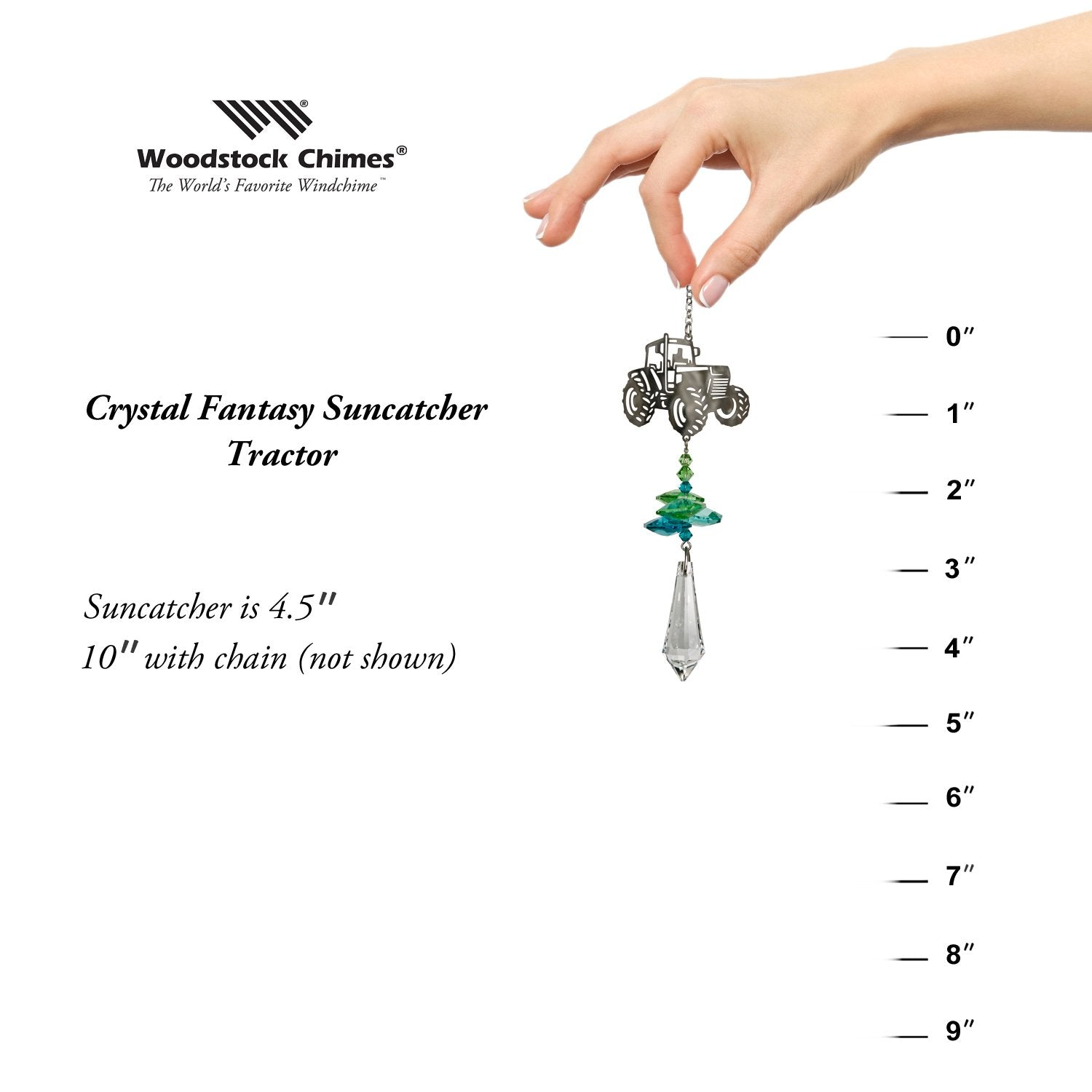 Crystal Fantasy Suncatcher - Tractor proportion image