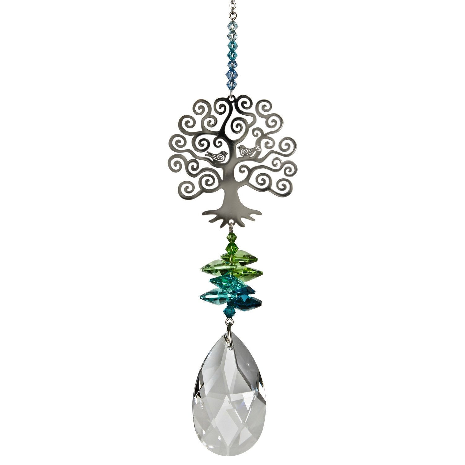 Crystal Fantasy Suncatcher - Large, Tree of Life alternate product image