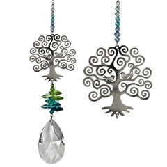 Crystal Fantasy Suncatcher - Large, Tree of Life main image