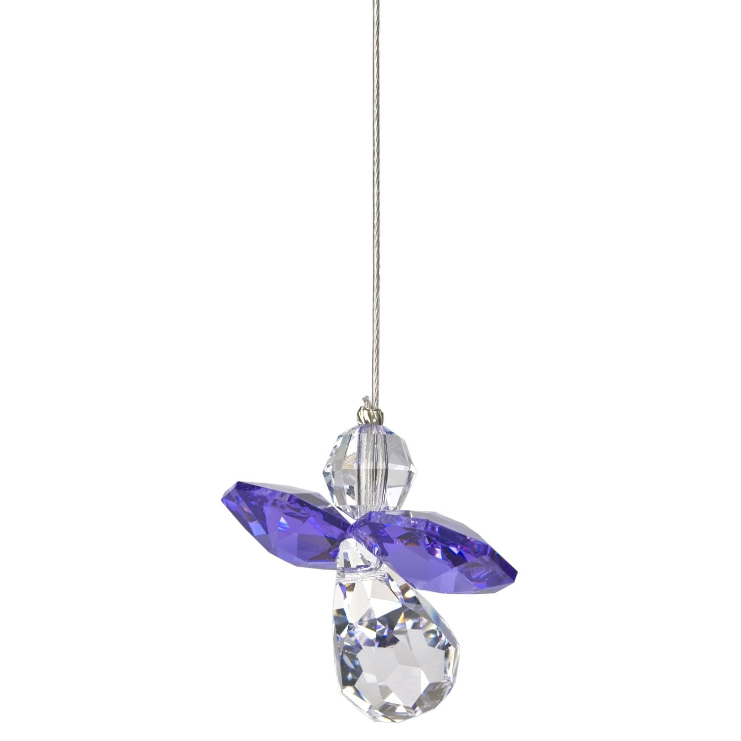 Crystal Guardian Angel Suncatcher - Amethyst (February) alternate product image