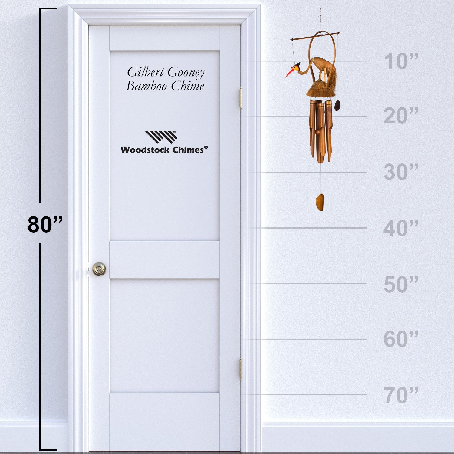Gilbert Gooney Bamboo Chime proportion image