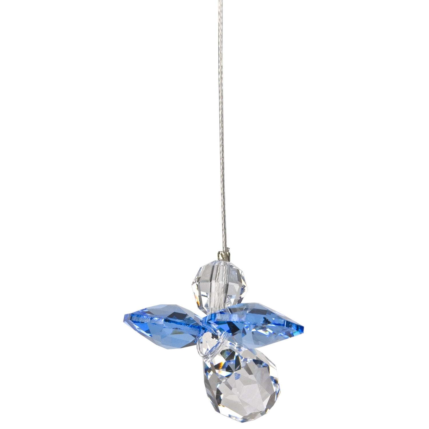 Crystal Guardian Angel Suncatcher - Sapphire (September) alternate product image