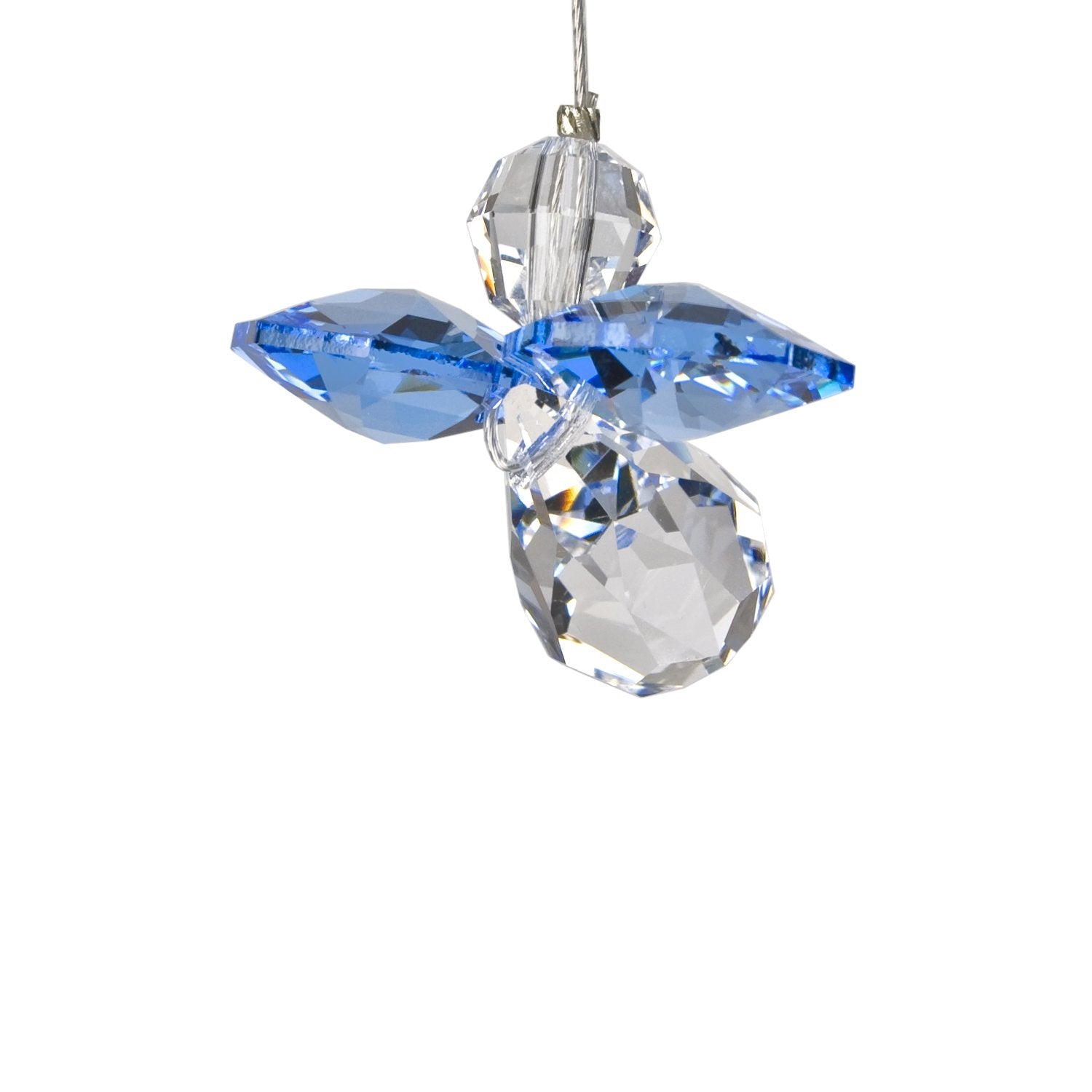 Crystal Guardian Angel Suncatcher - Sapphire (September) main image