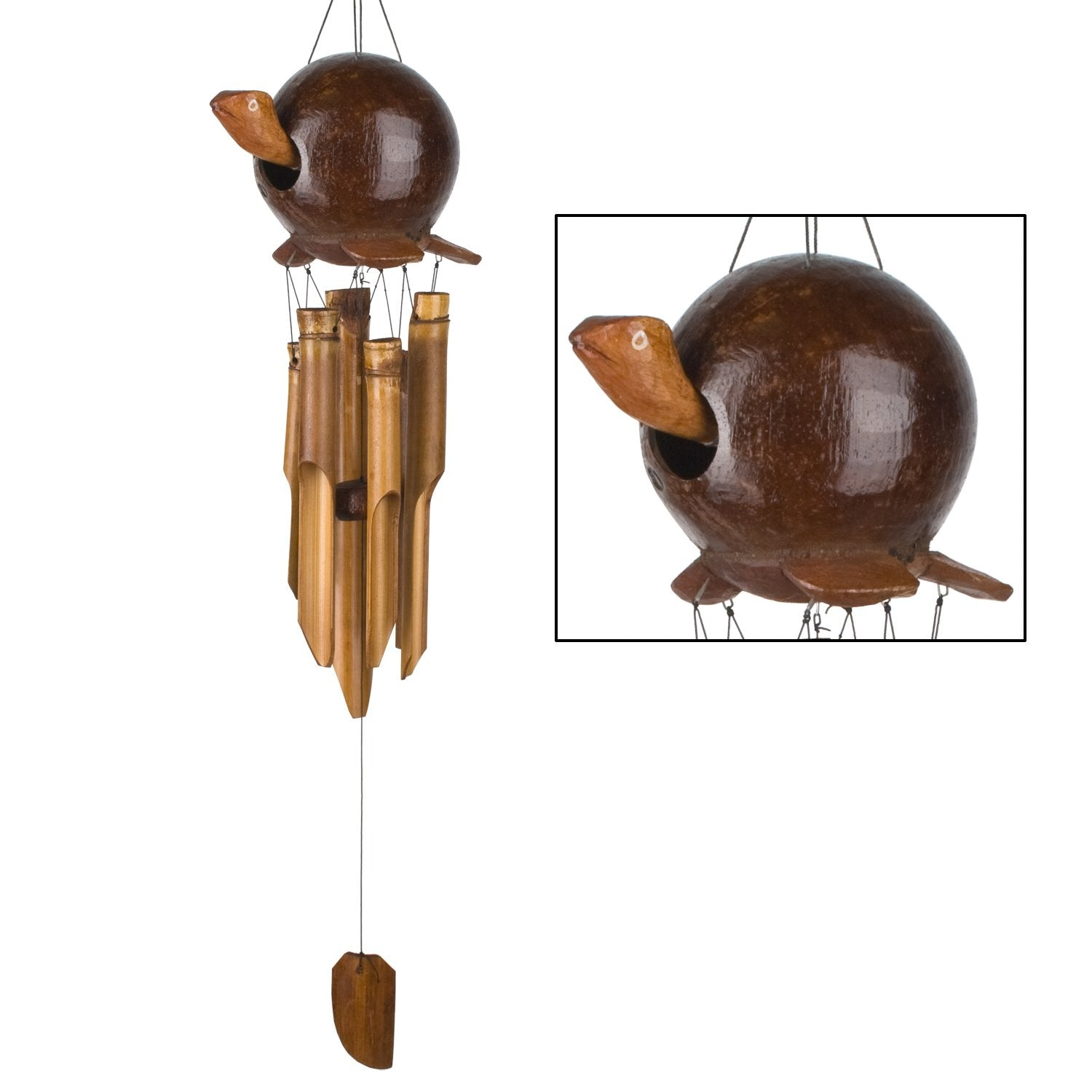 Gertyl Turtle Gooney Bamboo Chime main image