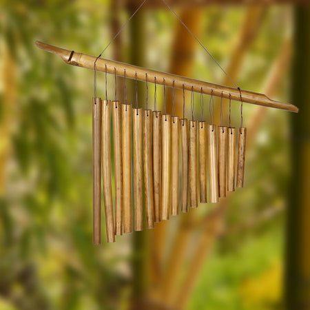 Harp Bamboo Chime proportion image