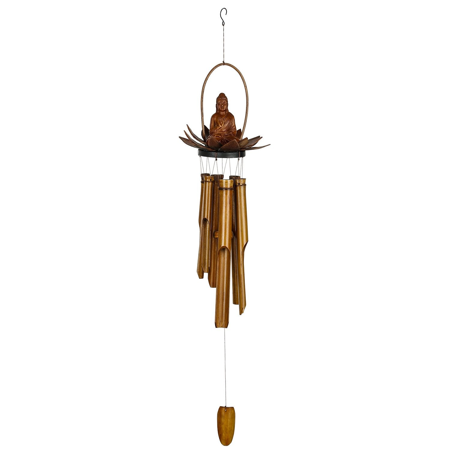 Lotus Buddha Bamboo Chime full product image