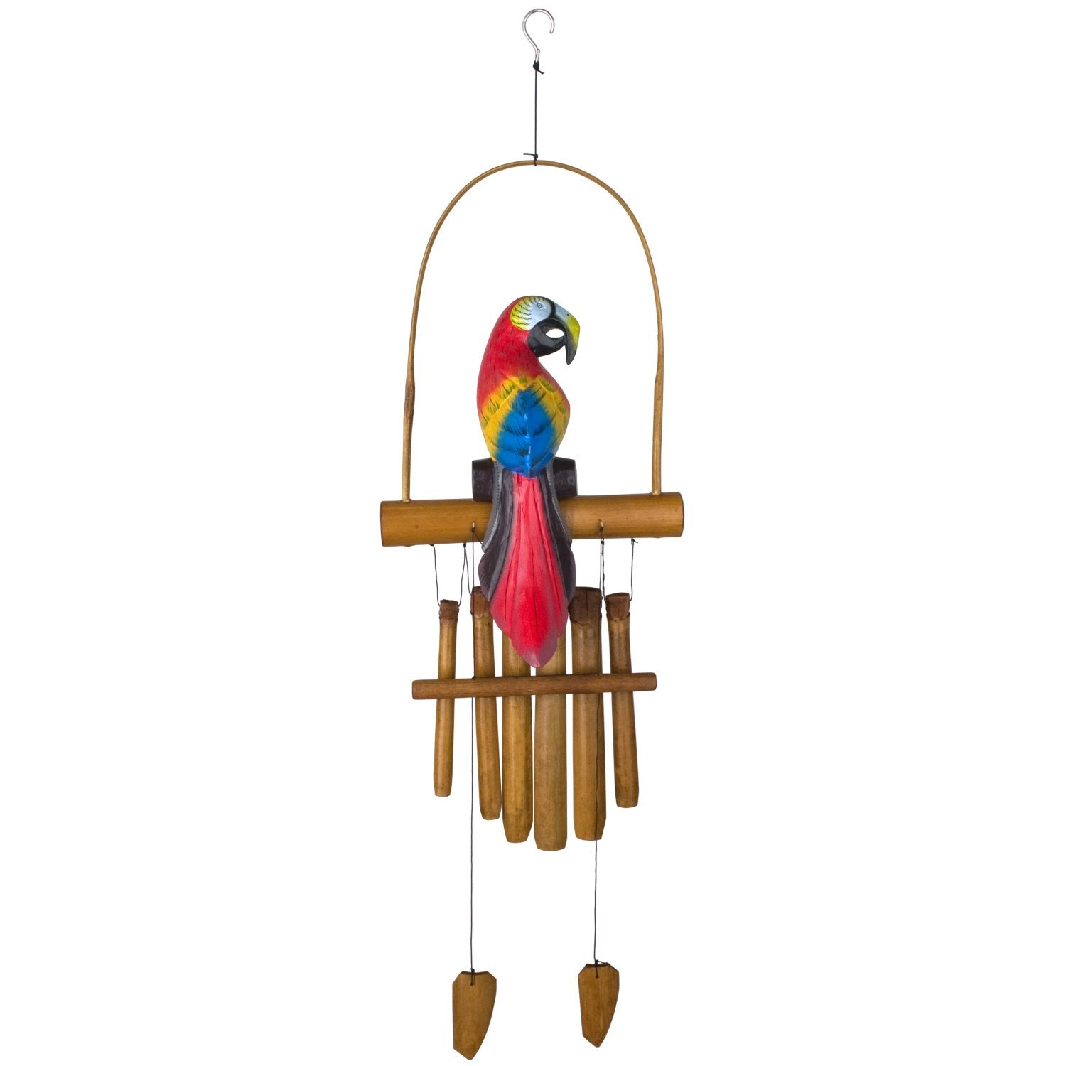 Animal Bamboo Chime - Parrot full product image