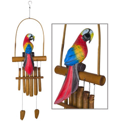 Animal Bamboo Chime - Parrot main image