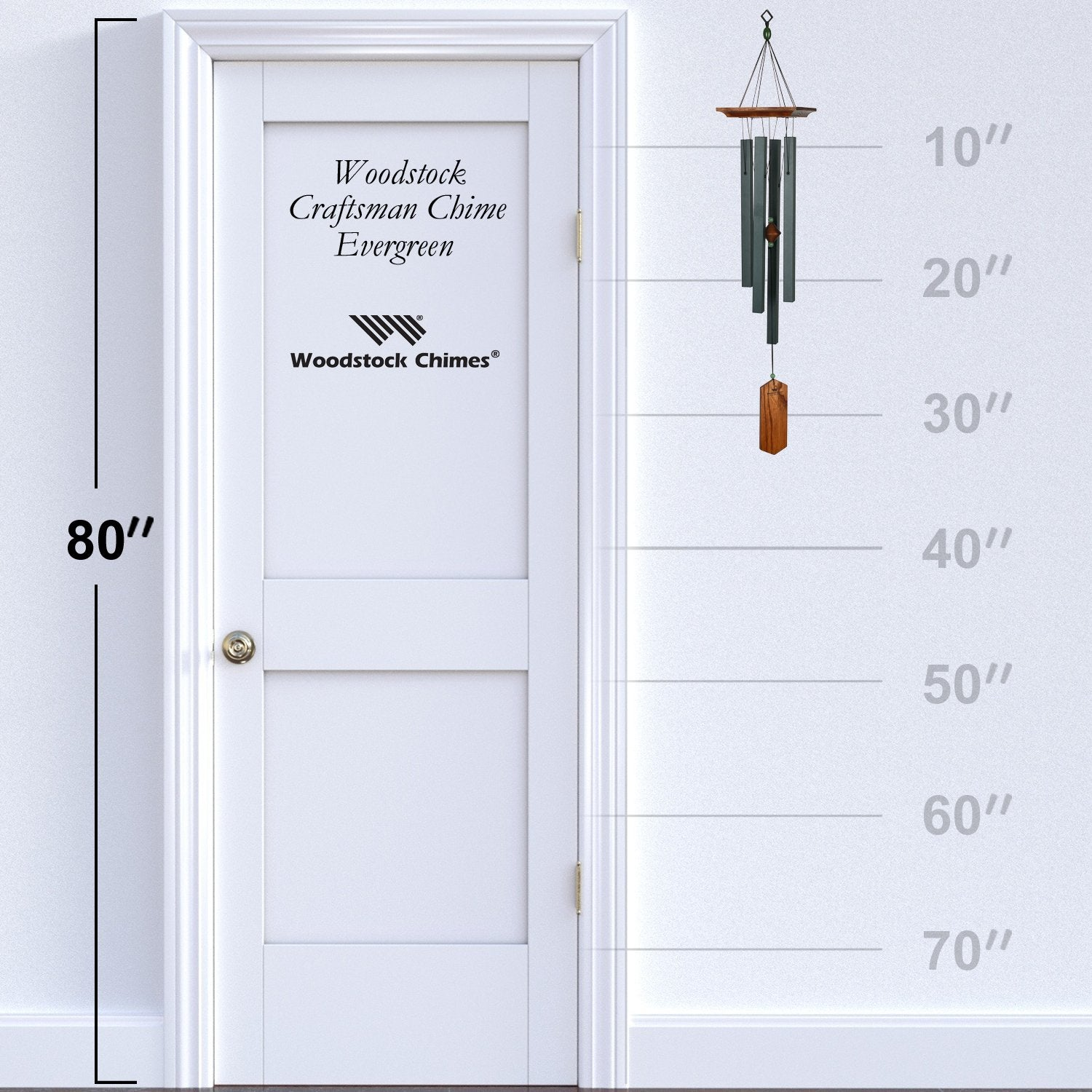 Craftsman Chime - Evergreen proportion image