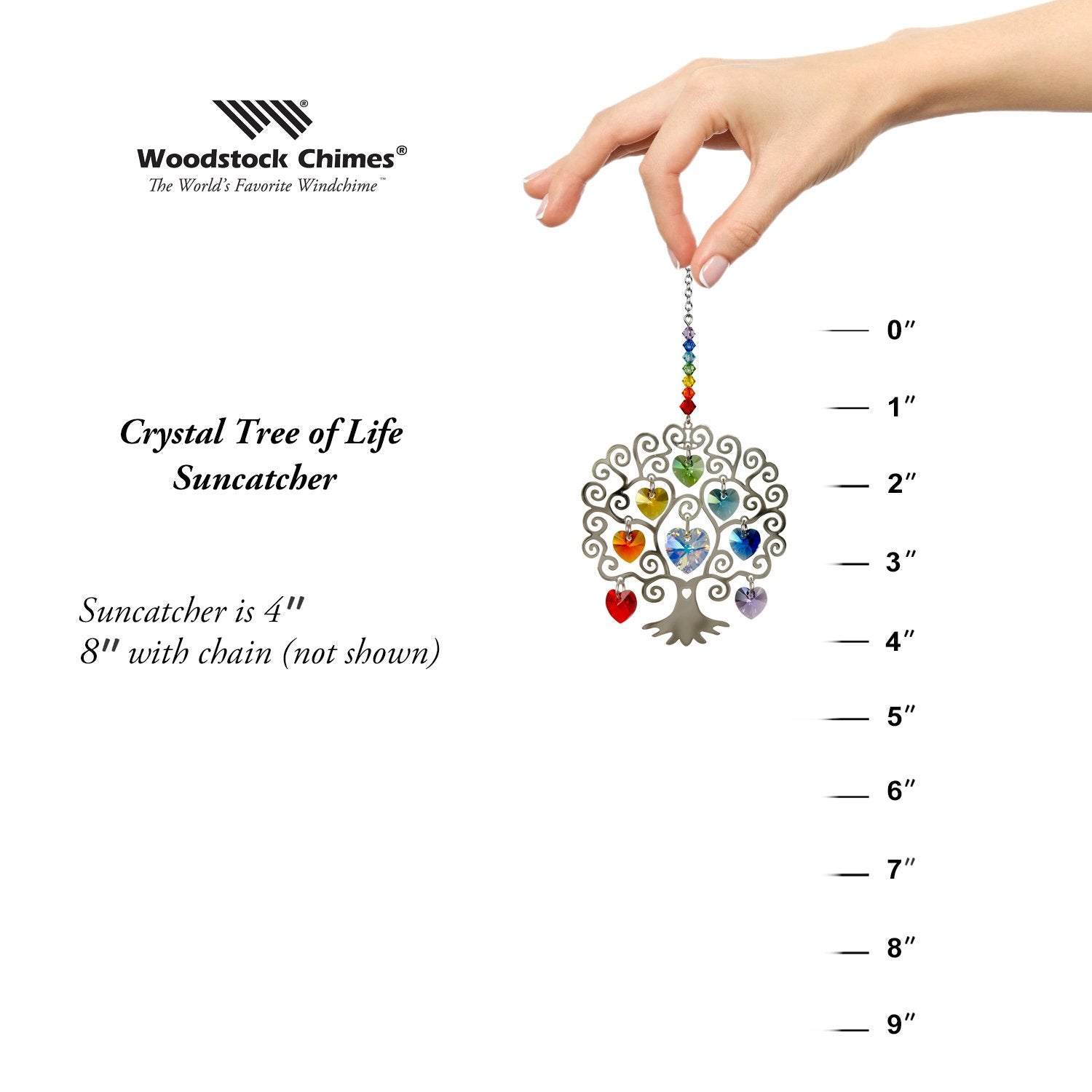 Crystal Tree of Life proportion image