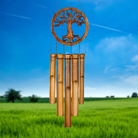 Tree of Life Bamboo Chime proportion image