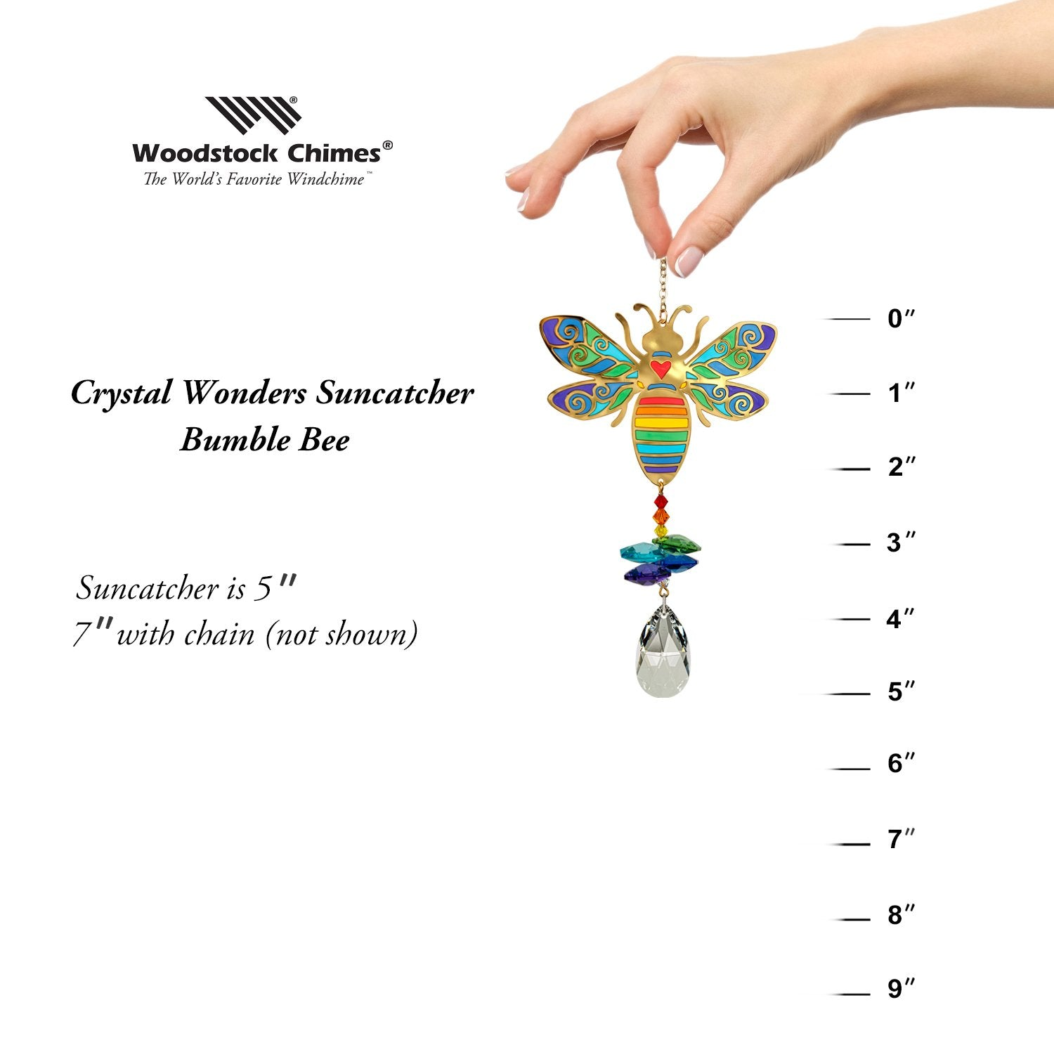 Crystal Wonders - Bumblebee proportion image