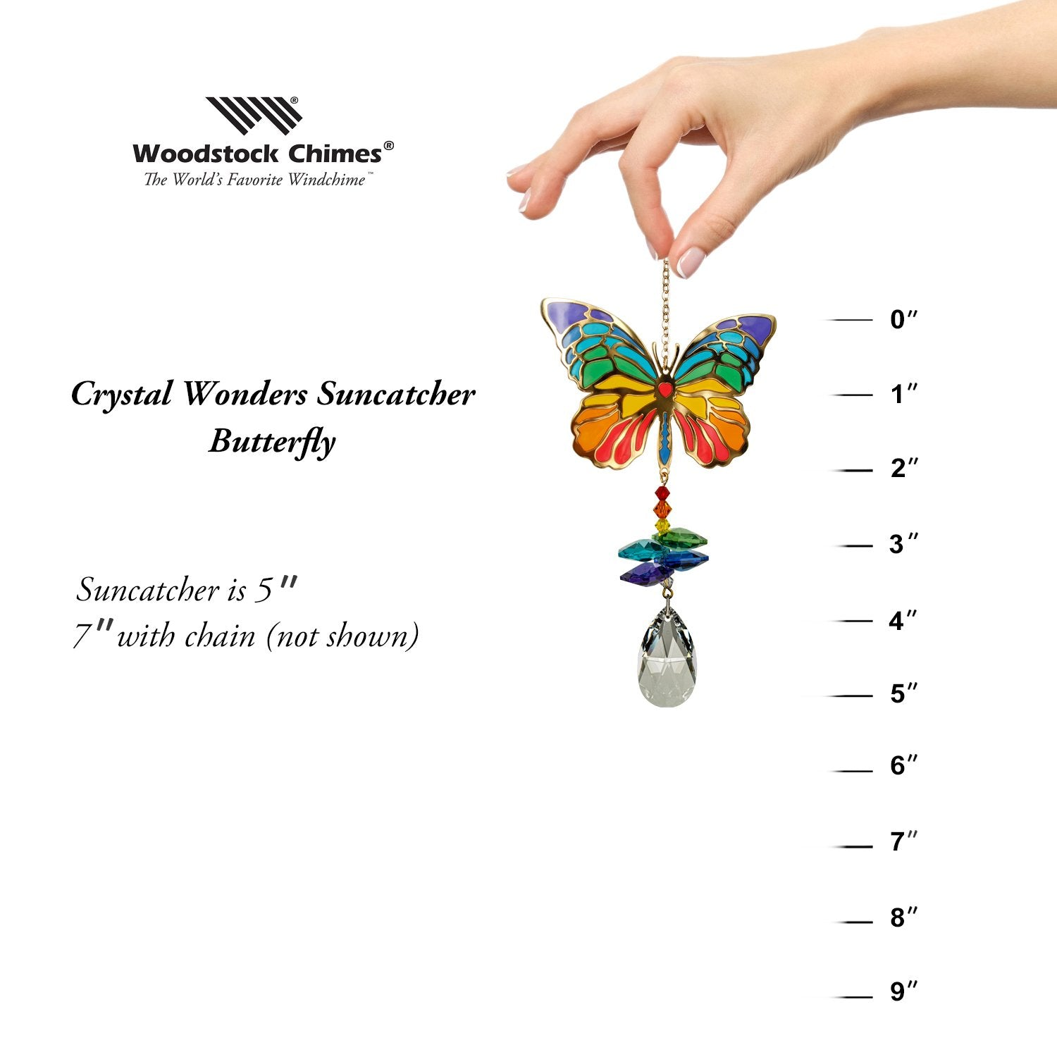 Crystal Wonders - Butterfly proportion image