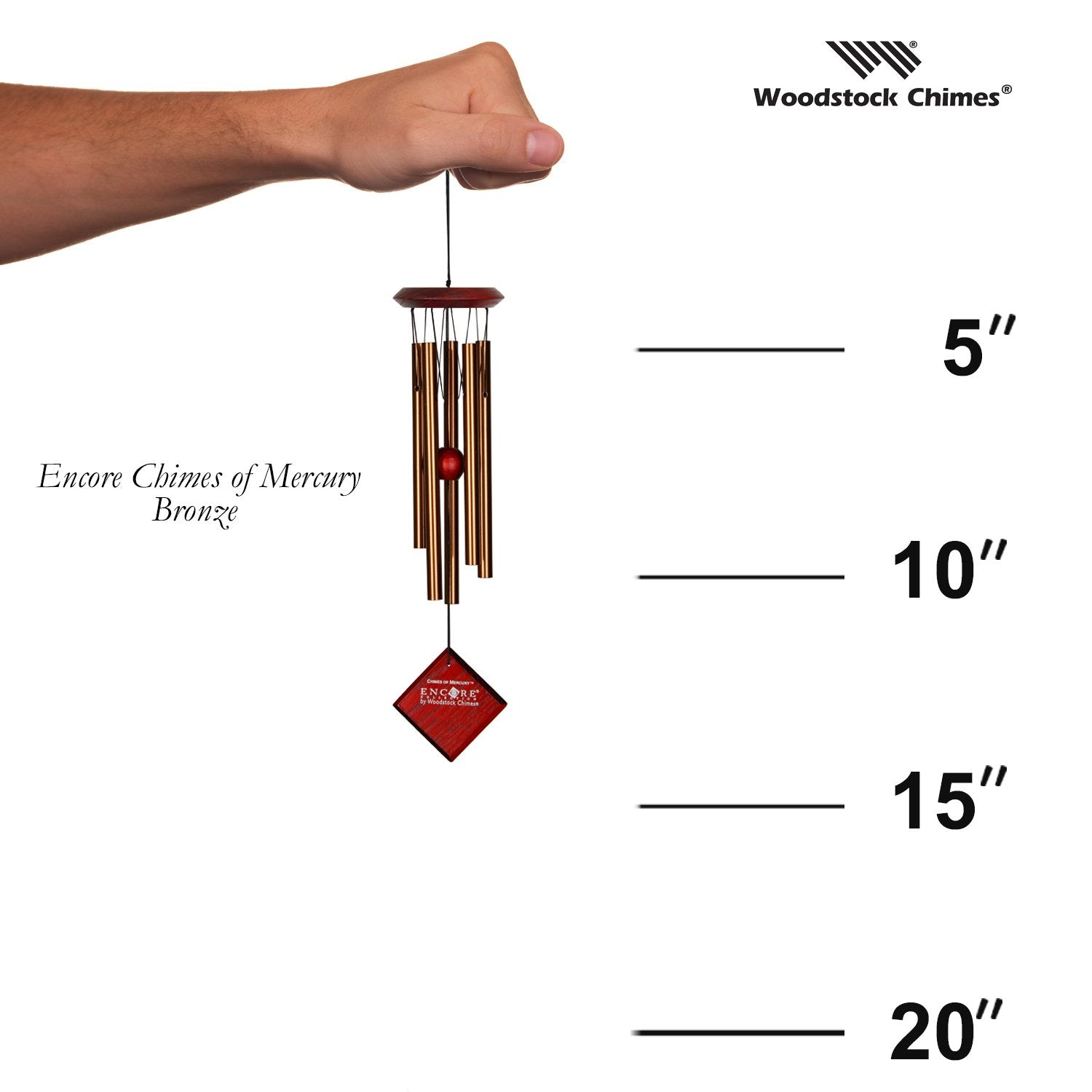Encore Chimes of Mercury - Bronze proportion image