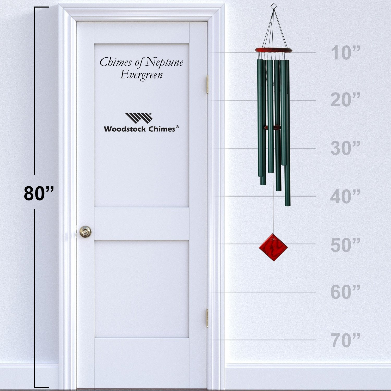 Encore Chimes of Neptune - Evergreen proportion image