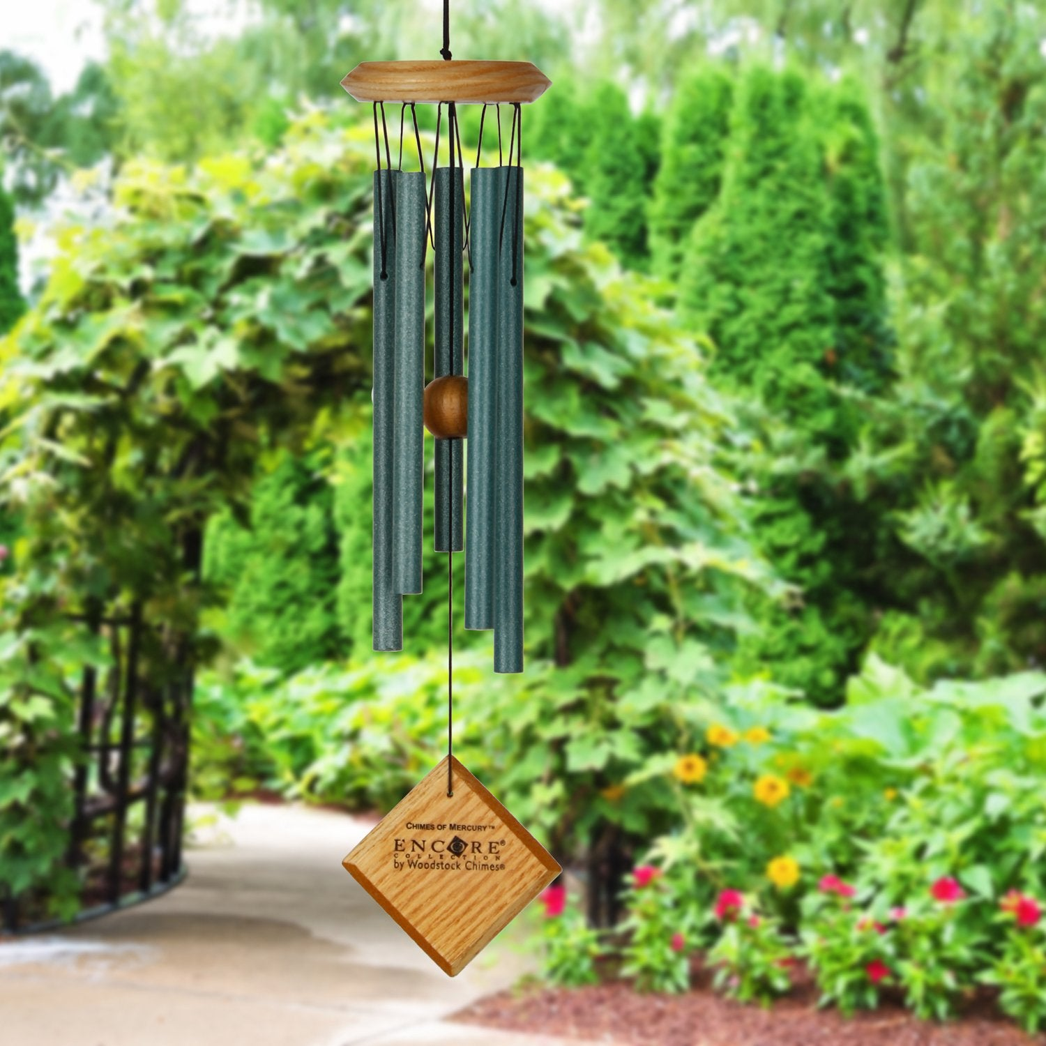 Encore Chimes of Mercury - Verdigris lifestyle image