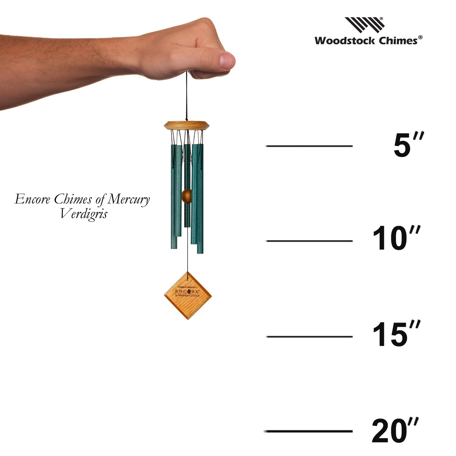 Encore Chimes of Mercury - Verdigris proportion image