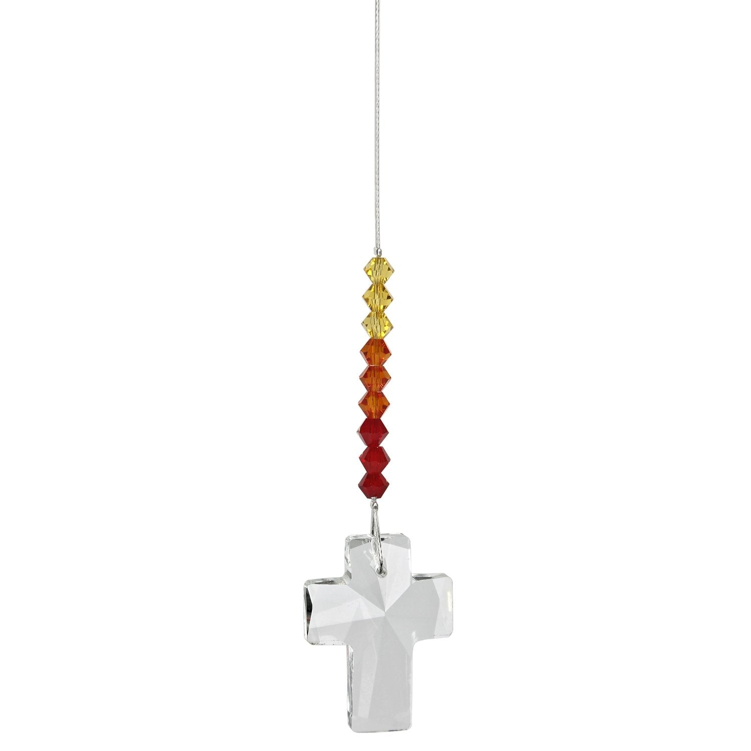 Crystal Cross Suncatcher - Sunrise alternate product image