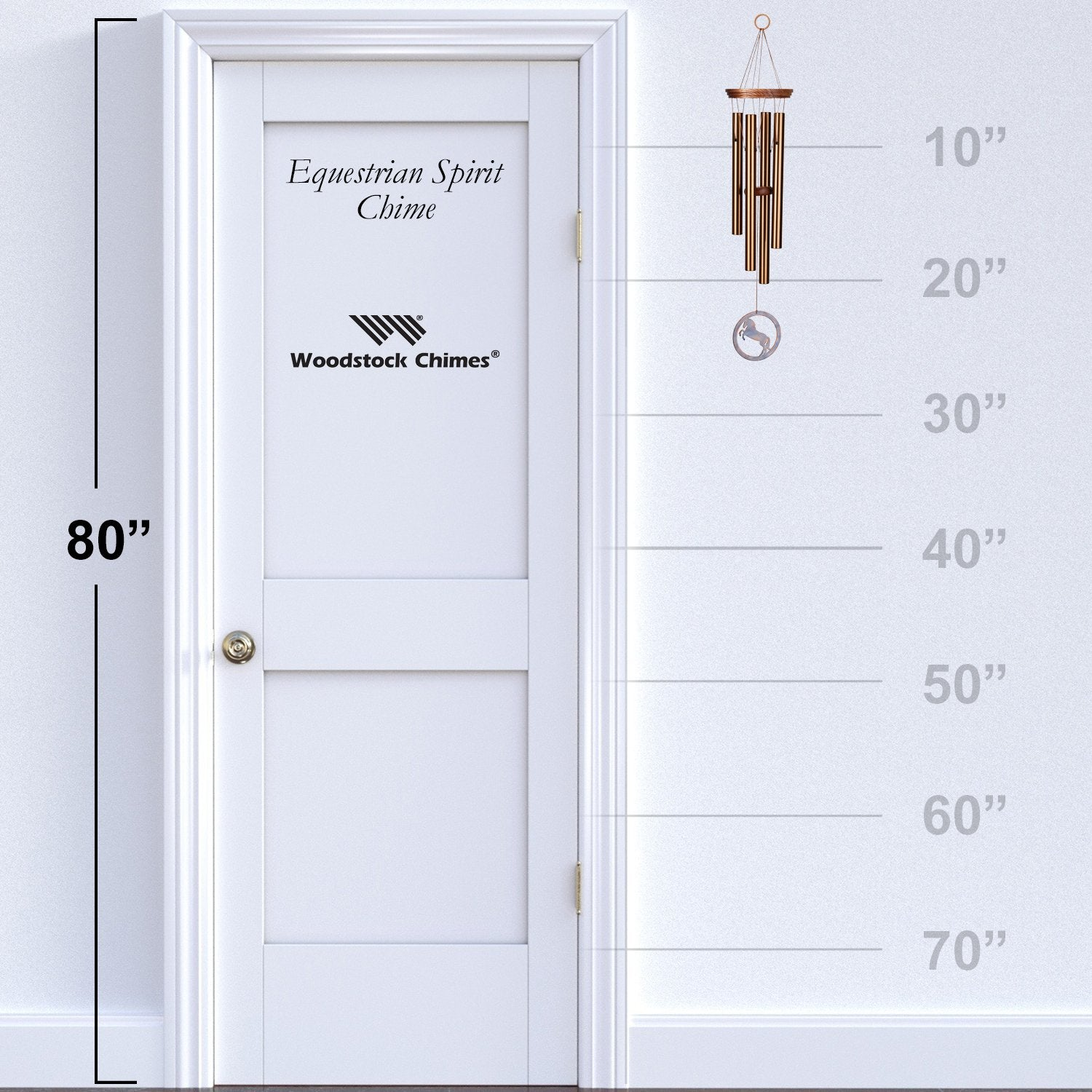 Equestrian Spirit Chime proportion image