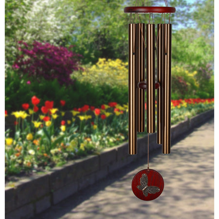 Habitats Chime - Bronze, Butterfly musical scale