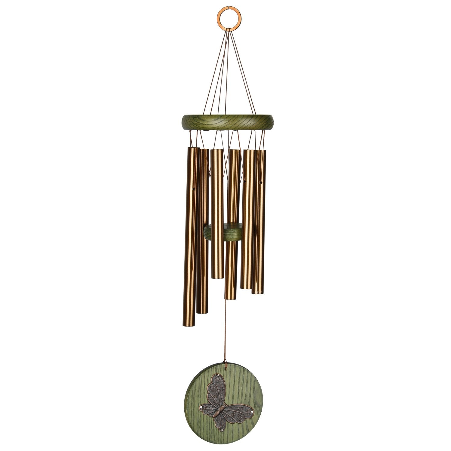 Habitats Chime - Green, Butterfly full product image