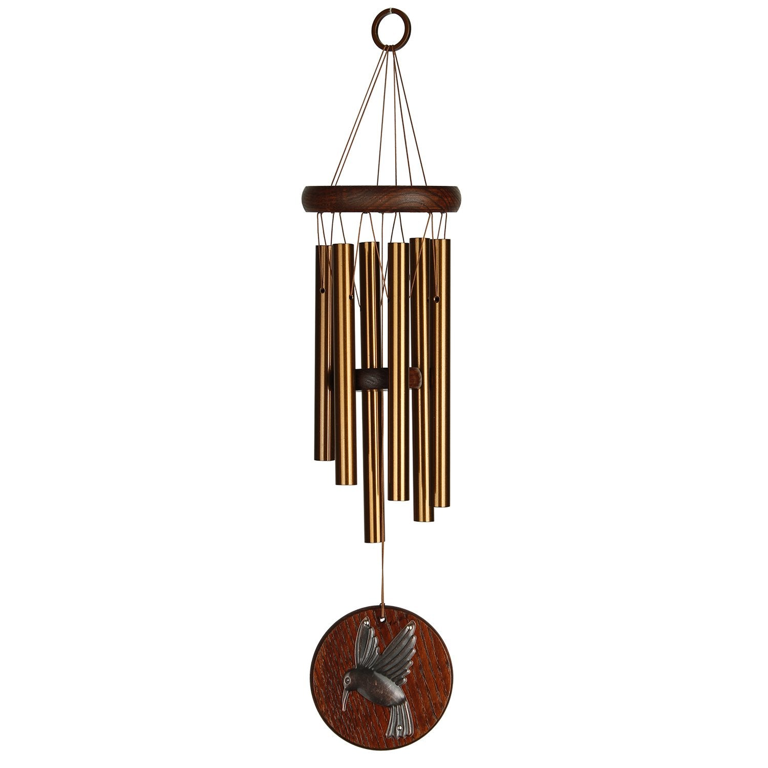 Woodstock Habitats Chime - Teak, Hummingbird full product image