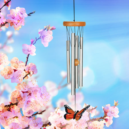 Monarch Butterfly Chime musical scale