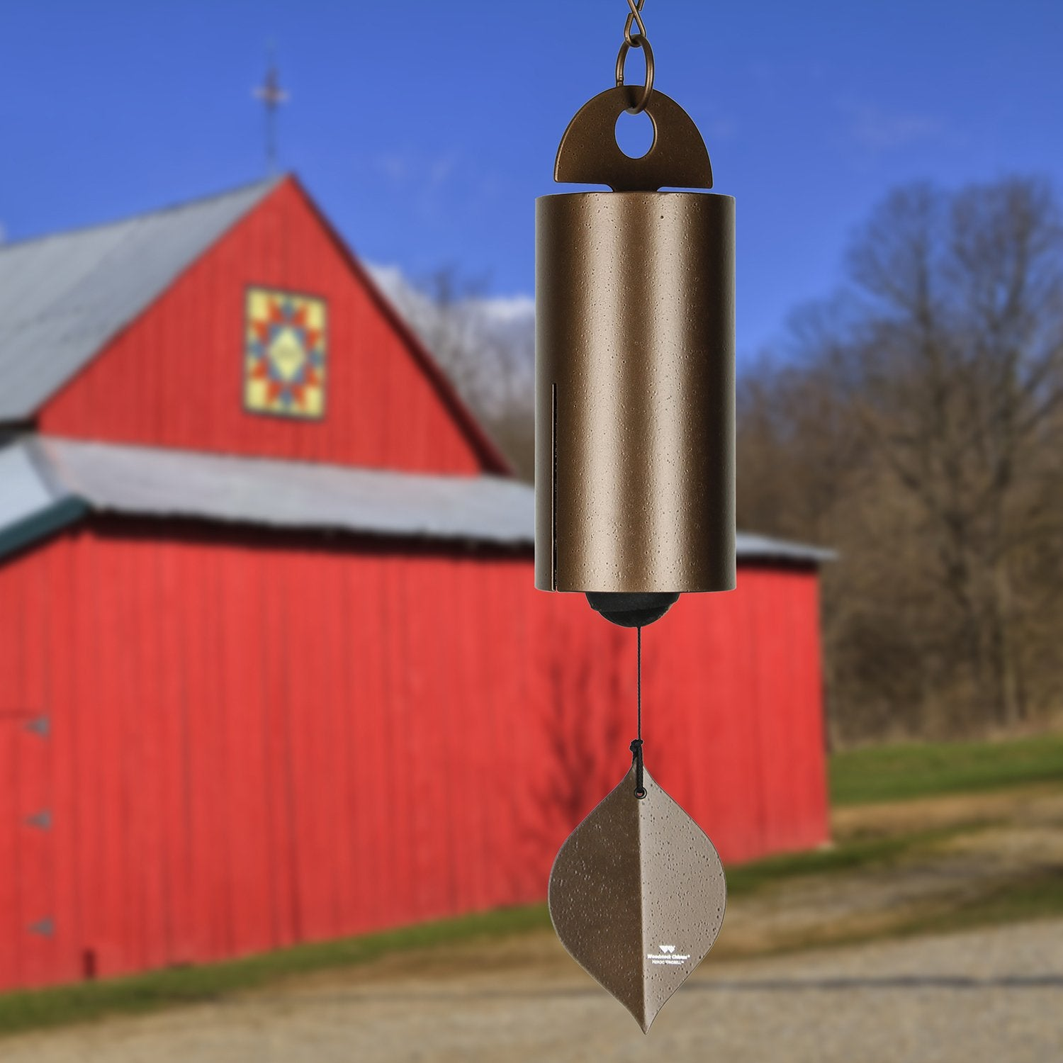 Heroic Windbell - Medium, Antique Copper lifestyle image