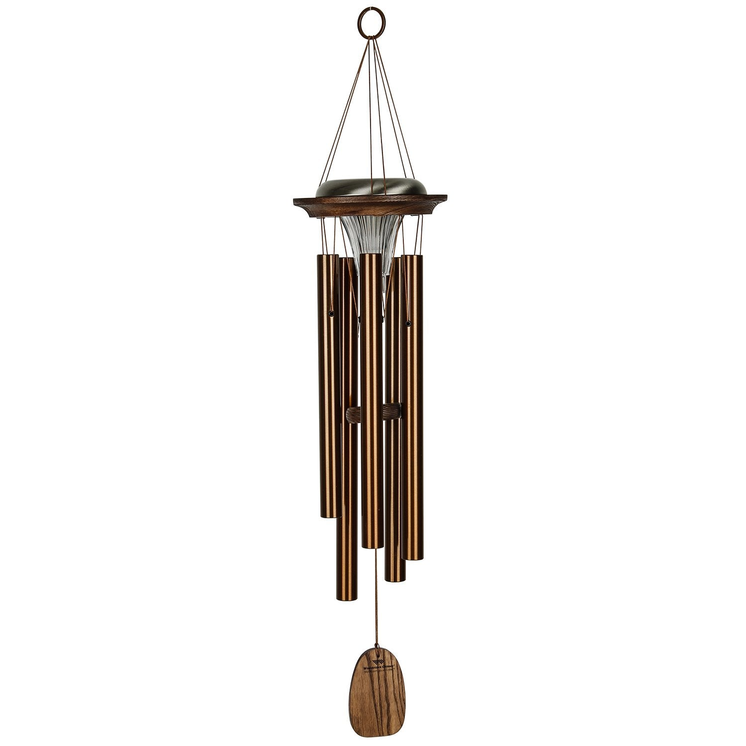 Moonlight Solar Chimes - Bronze full product image