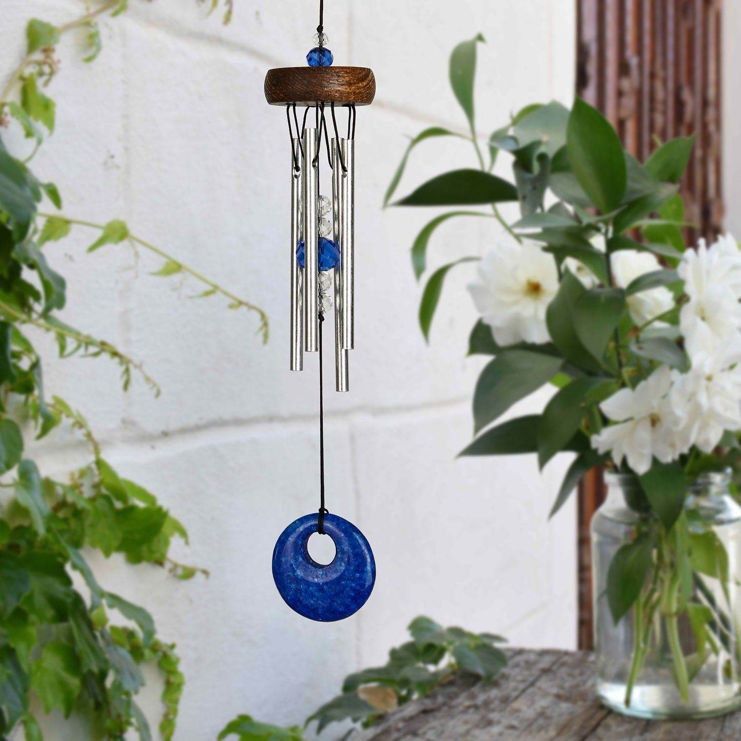 Mini Stone Chime - Blue lifestyle image