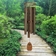 Personalize It! Sympathy Amazing Grace Chime - Medium Bronze, Forever main image
